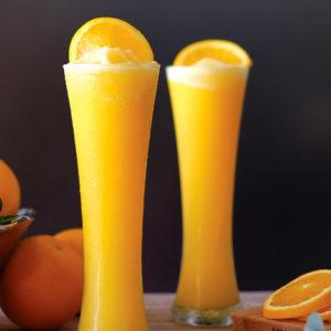Orange Frappe