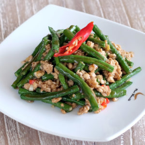 Stir Fried Long Bean