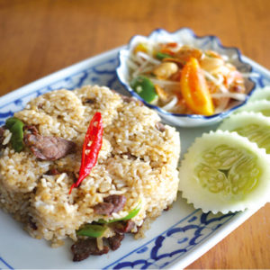 Sun Dried Beef Fried Rice