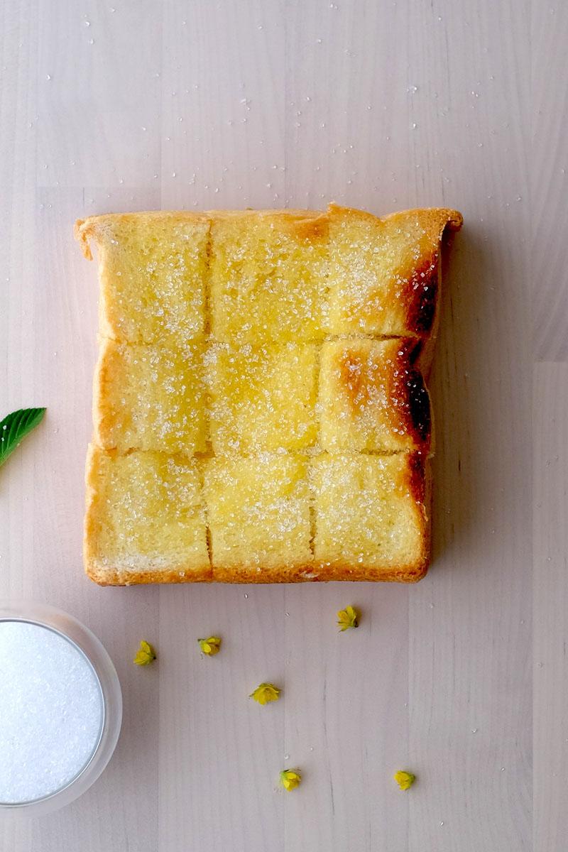 Toast Butter Sugar