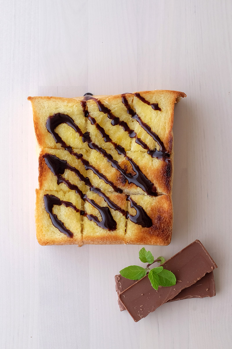 Toast Butter and Chocolate